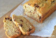 a healthy chocolate chip banana bread..yuummmm