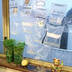 Looks like @_sarahwilson_'s zip-lock bag-washing ways are catching on! @tiffswest hangs hers up to dry on the window. Save money, reuse and minimise waste. - I Quit Sugar