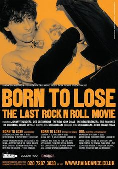 Documentales de Música: Johnny Thunders: Born to Lose El último Rock and Roll de la película