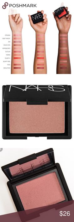 NWT NARS Sin Blush brand new in the box. NARS Sin blush.   Check out my page for more NARS and other name brand makeup! NARS Makeup Blush