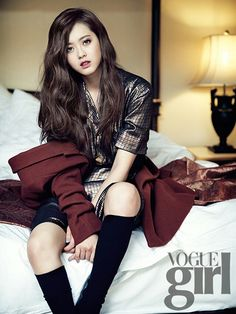 """Reply Actress Go Ara Poses for Upcoming ""Vogue Girl"" Photo Shoot Go Ara, Magazine Vogue, Girls Magazine, Girl Photo Shoots, Girl Photos, K Pop, Korean Women, Korean Girl, Korean Actresses"