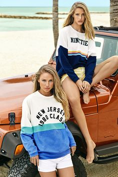 Island Life - The Beat Goes On | New Urban Girl Summer 18 Collection. Talent: Abby Champion, Scarlett Leithold, Keighty Schmid, Autumn Henry.