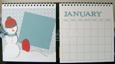 IDEA - Jill's Card Creations: Scrapbooking and a calendar
