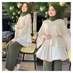 Hijab Fashion Summer, Modest Fashion Hijab, Modern Hijab Fashion, Muslim Women Fashion, Hijab Fashion Inspiration, Islamic Fashion, Mode Inspiration, Modesty Fashion, Fashion Black