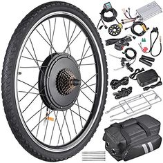 "AW 26""x1.75"" Rear Wheel 36V 800W 350RPM Electric Bicycle ..."
