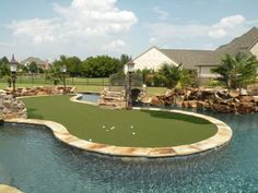 Putting Green & Lazy River -- Just in case we end up with lots of extra money!!  Bahahaha