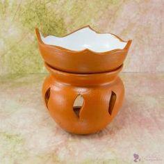 """""""TAVIRÓZSA"""" aromalámpa * kerámia - narancssárga Planter Pots"""