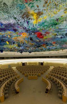 Cámara de Derechos Humanos y de la Alianza de Civilizaciones de las Naciones Unidas en Ginebra, Suiza.