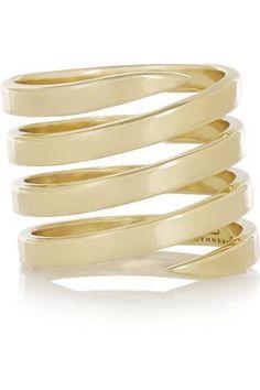 14-karat gold ring #jewelry #covetme #lynnban
