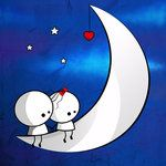 on the moon by MediaJamshidi