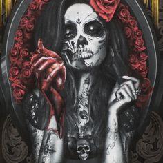 pixels - New Site Sugar Skull Mädchen, Sugar Skull Artwork, Sugar Skull Tattoos, Skull Girl Tattoo, Skull Tattoo Design, Girl Tattoos, Day Of The Dead Tattoo Sleeve, Day Of The Dead Girl Tattoo, La Muerte Tattoo