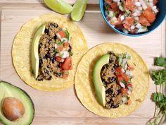 Quinoa Black Bean Tacos - Budget Bytes