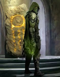 Looks like some sort of Hive fanatic Hunter from Destiny Destiny Gif, Destiny Comic, Destiny Hunter, Destiny Bungie, Dark Fantasy, Fantasy Art, The Evil Within, New Gods, Futuristic Art