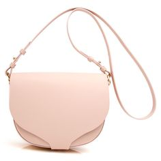Blossom Pink Barnsbury Crossbody ($695) ❤ liked on Polyvore featuring bags, handbags, shoulder bags, bolsas, purses, crossbody handbags, pink handbags, flower purse, white crossbody purse and flower handbag