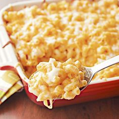 Four-Cheese Butternut Squash Macaroni and Cheese - With four different reduced-fat cheeses, nutty butternut squash, and whole grain macaroni, this is a mac and cheese recipe you can feel good about. (Finally!)