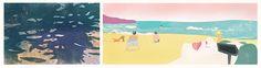 Summer memories Illustration by http://ewelinaskowronska.com/