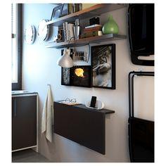 BJURSTA Wall-mounted drop-leaf table - IKEA