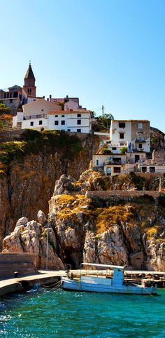 Famous Pier of Vrbnik Town, Krk island, Croatia    |   15 Photos That Will Make You Fall in Love with Croatia