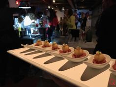 'Q Catering' Q at Refinery29's client appreciation event. Crispy goat cheese 🧀 with apple 🍎 compote and mustard aioli...  Menu ideas and options check us out and/or request a quote @ www.q.catering.com  🍽SERVING GREATER LOS ANGELES & THE SAN FERNANDO VALLEY 📞424.218.5375 #qcatering #qcateringusa  Follow us on Facebook @ Q Catering Instagram: https://www.instagram.com/qcateringusa/ Twitter: https://twitter.com/qcateringusa  #refinery29 #foodie #foodpic #dtla #beverlyhills #wedding