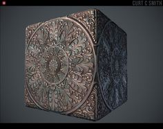 ArtStation - Decorative Ceiling Tile - Substance Material, Curt Smith
