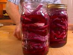 Pickled Beets recipe from Alton Brown via Food Network