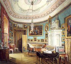 Гатчинский дворец. Овальный кабинет