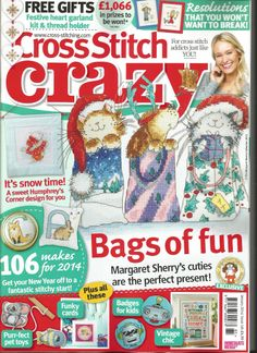 Cross Stitch Crazy issue January 2014