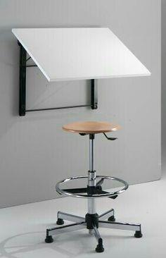 Most Popular Study Table Designs and Children's Chairs Today Study Table Designs, Study Room Design, Studio Furniture, Furniture Design, Furniture Ideas, Art Studio Room, Drawing Desk, Art Desk, Designer
