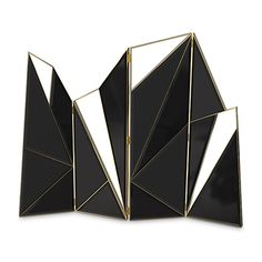 Delta Screen explodes with a dramatic but elegant black, noting a sensual geometry in the flow of the four panels. This unique folding screen is perfectly wrapp Life Design, Modern House Design, Luxury Furniture, Furniture Design, Bedroom Furniture, Luxury Dining Tables, Hotel Reception, Luxurious Bedrooms, Modern Luxury