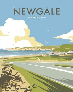 Newgale, Pembrokeshire wholesale tea tin