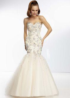 Nina Canacci 1043 -Gold Strapless Mermaid Prom Dresses Online ...