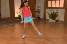 """Übung Workout """"Dance-Workout"""" für 10-Minute-Solution - hier Schritt für Schritt das Workout in einzelnen Übungen"""