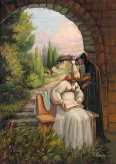 optical illusion art   Optical Illusion Paintings (3)
