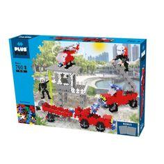 Plus-Plus Mini 760 Basic - Záchranári | edukacnehracky.sk Mini, Hello Kitty, Products, Souvenir, Brick, Building Block Games, Tutorials, Fire Trucks