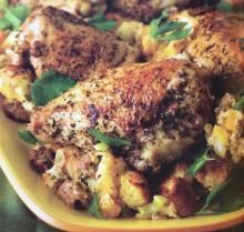 Festive Roast Chicken and Stuffing | Louisiana Kitchen & Culture