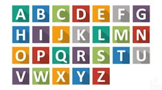 Resultado de imagem para paper alphabet