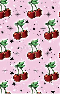 Tattoo Rockabilly Cherries by tattoofreak