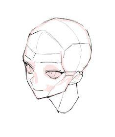 Manga Drawing Tutorials, Art Tutorials, Yuumei Art, Anime Drawings Sketches, Drawing Expressions, Digital Art Tutorial, Drawing Reference Poses, Art Poses, Anatomy Art