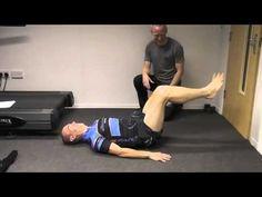 Exercises to correct anterior tilt or lordosis posture - YouTube