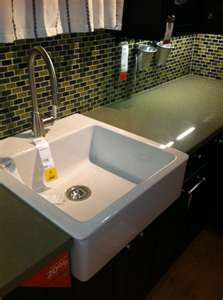cute laundry room sink for cheap- love apron front sinks