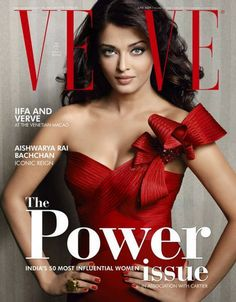 "Aishwarya Rai Bachchan Appeared in June 2009 edition of the famous magazine ""Verve"". Aishwarya Rai looked hot, sexy, spicy and ever so beautiful in red and pink as she appears in the list of India's top 50 most influential women. Enjoy the photoshoot. Aishwarya Rai Photo, Aishwarya Rai Bachchan, Deepika Padukone, Mangalore, Best Fashion Magazines, Miss Mundo, Cool Magazine, Magazine Covers, Miss India"