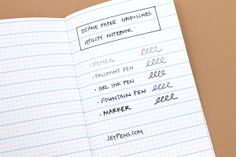 Doane Paper Grid + Lines Utility Notebook