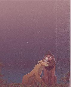 Ciara and Kovu :) Disney Nerd, Old Disney, Cute Disney, Disney Magic, Lion King 3, Disney Lion King, Disney And Dreamworks, Disney Pixar, Kiara And Kovu