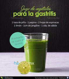 Un jugo para la gastritis….!!