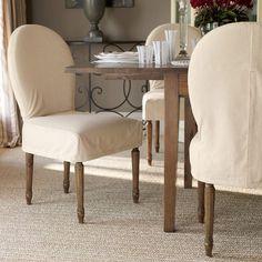Horseshoe Dining Chair, Antique Oak Legs