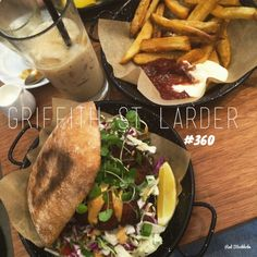 Ok so please forgive my slightly rushed photo but I just couldn't wait to dive into lunch at Griffith St Larder. Located in Coolangatta, this place serves up. Larder, Served Up, Gold Coast, Holi, Lunch, Ethnic Recipes, Cafes, Eat Lunch