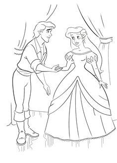 Disney Princess Coloring Pages, Disney Princess Colors, Mermaid Coloring Pages, Cute Coloring Pages, Coloring Pages For Kids, Adult Coloring, Coloring Books, Shadow Silhouette, Disney Sketches
