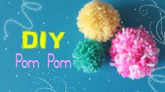 Come fare i PomPom - How to make a PomPom | Sissy's Creations