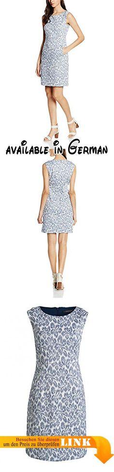 ESPRIT Collection Damen Kleid 056EO1E014-mit Stretch, Mehrfarbig (Bright Blue 410), 44. Mit sehr süßem Blümchenprint und Eingrifftaschen vorne - Stretch sorgt für hohen Tragekomfort.. Ein echter Hingucker für alle besonderen Anlässe - Passt ebenfalls super zum gepflegten Freizeit-Look.. Etui #Apparel #DRESS