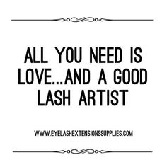 Spread the lash love